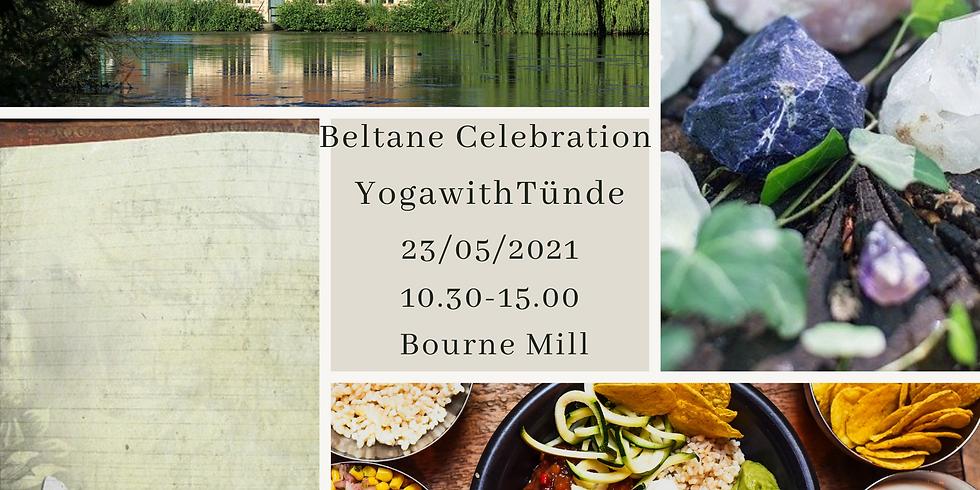 Beltane celebration *outdoor event*