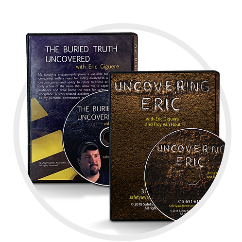 The Buried Truth Uncovered (English and Spanish) & Uncovering Eric