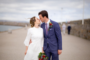 Dun Laoghaire Natural & Quirky Wedding Photography