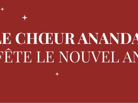 Le Choeur Ananda fête le Nouvel An 2020 !