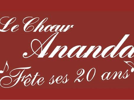 Chœur Ananda fête ses 20 ans !