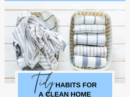 Tidy Habits of Clean Homes