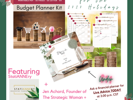 Holiday Budget Planner (Under $11.00!)
