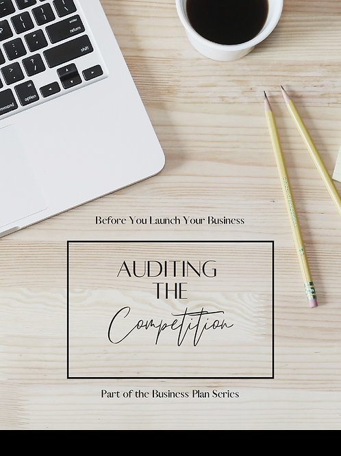 Auditing the Competition
