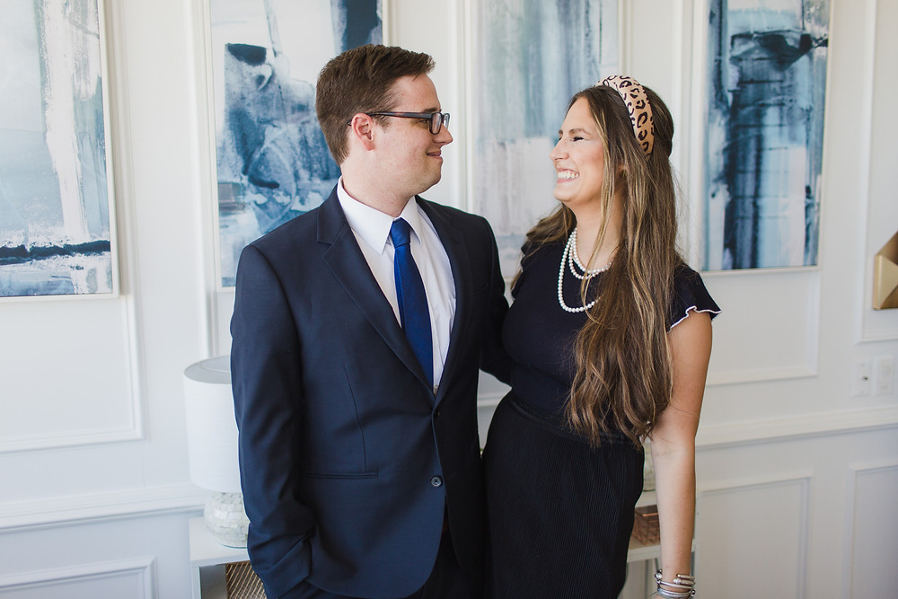 These are the two attorneys, Dan Martin Fergus, III and Taylor Tomanka, of the law firm Fergus & Tomanka, PLLC