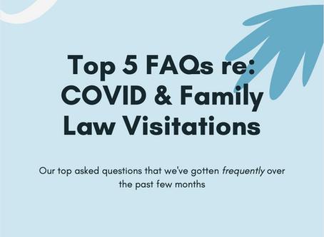 Top 5 FAQs regarding COVID19 & Family Law