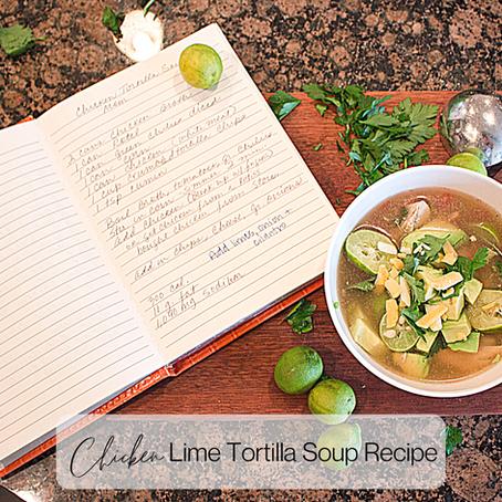 My Mom's Chicken Tortilla Soup Recipe