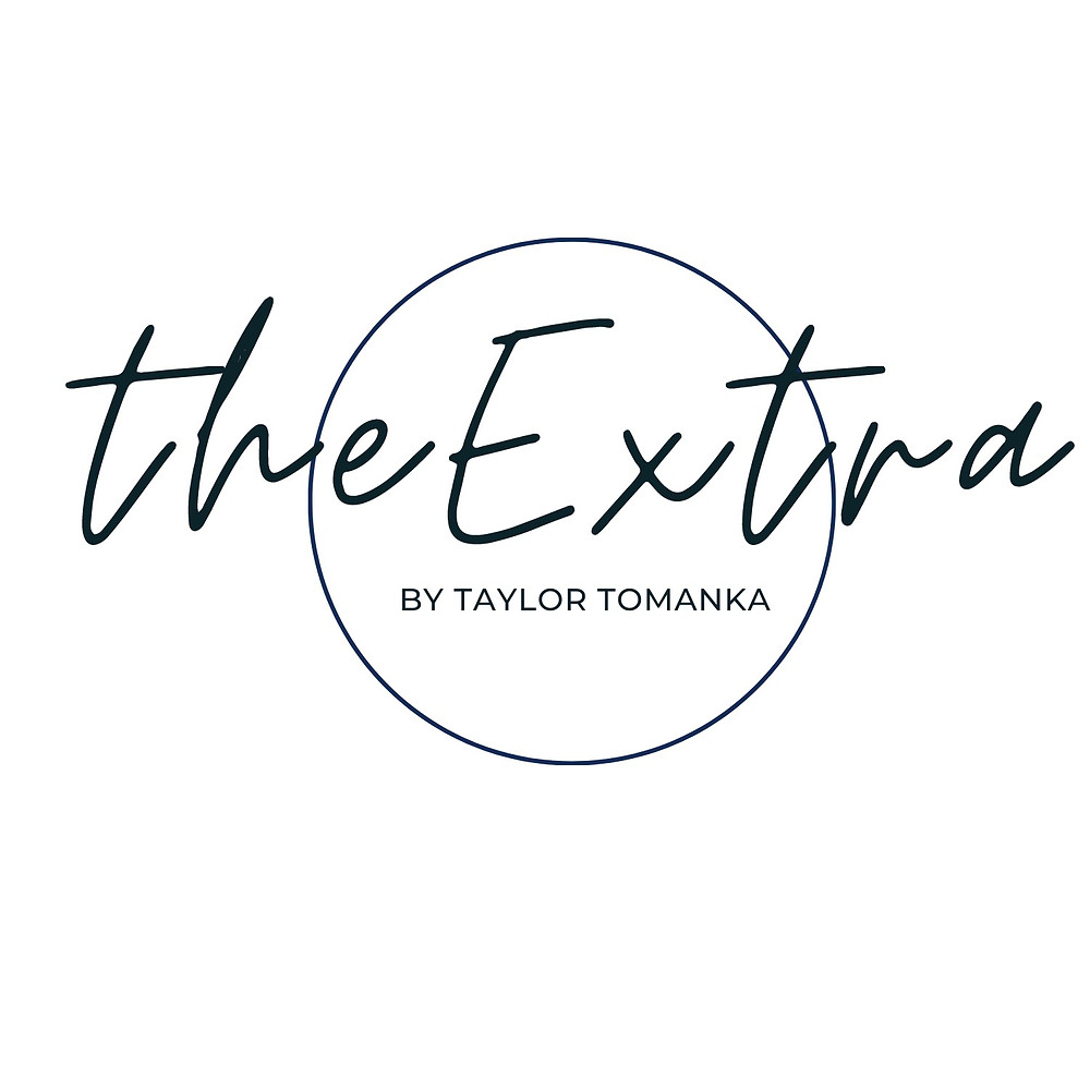 This is the logo for the Extra Blog