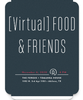Virtual Friendsgiving