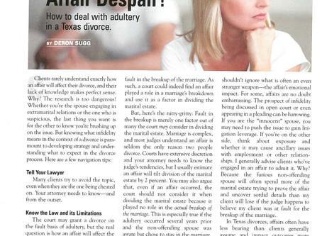 Affair Despair?