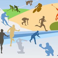 Leichtathletik, Wandern, Skifahren ...