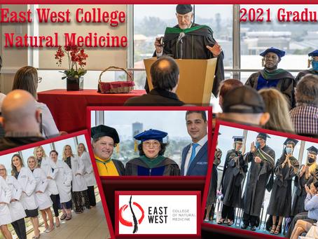 East West College of Natural Medicine 2021 Graduates