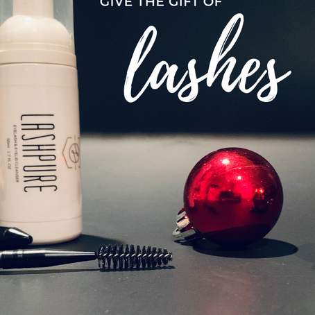 Lash Gift Cards are the perfect Holiday Gift
