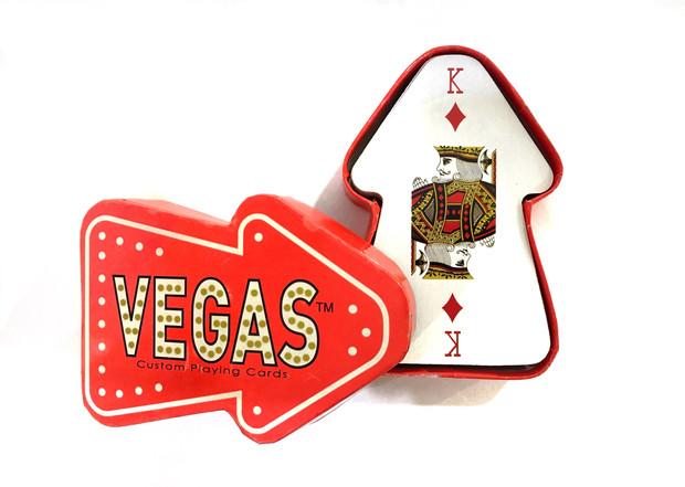 MR_SFUN06 Vegas die cut playing card