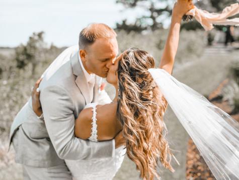 Our Dreamy Bohemian Cape Cod Wedding
