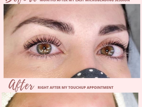 Microblading— Everything You Want to Know + The Healing Process!