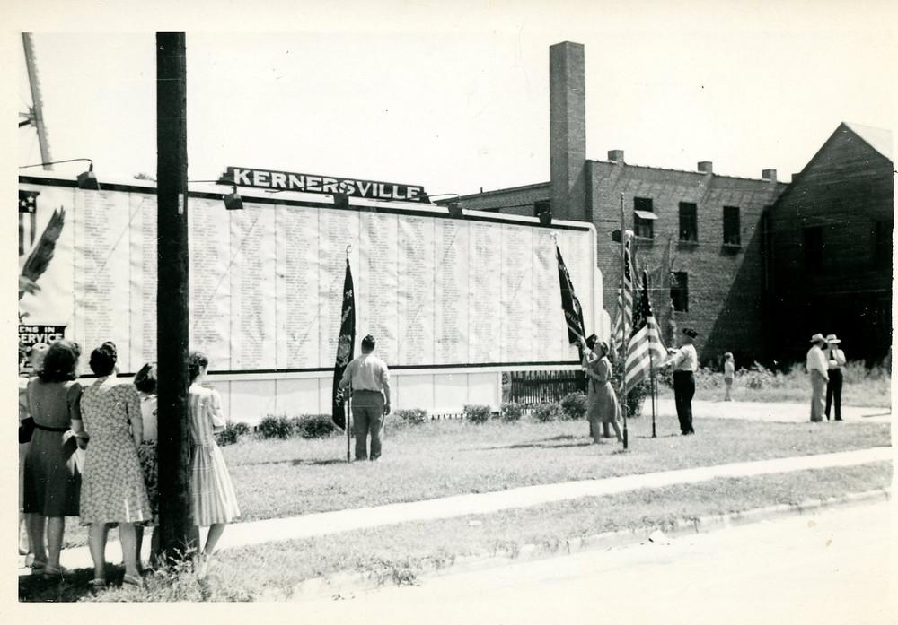 WWII service Board