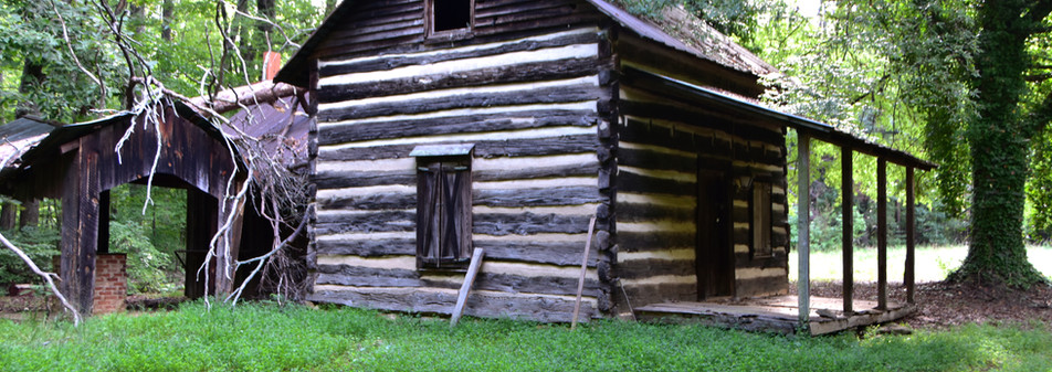 Weaning Cabin Side View