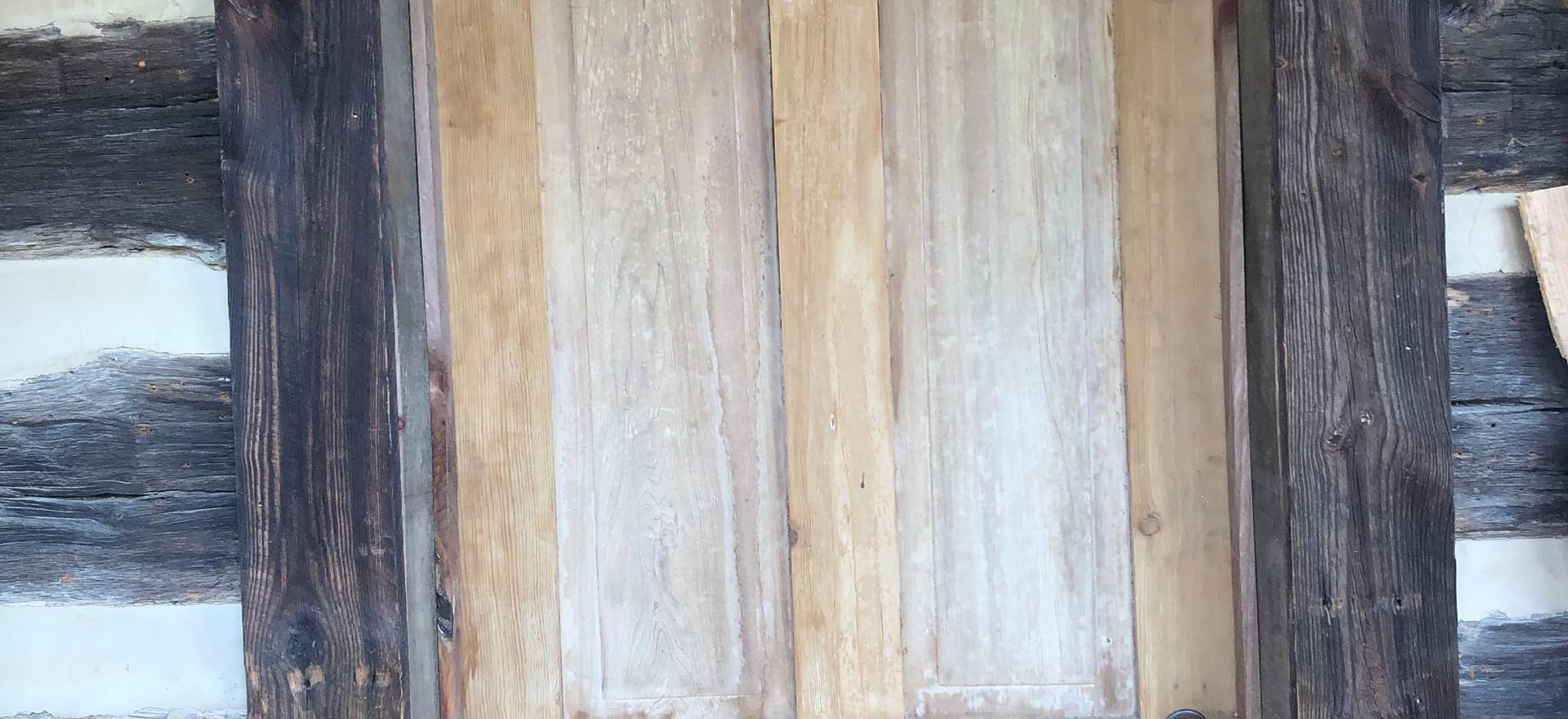 Front door, August 9, 2020