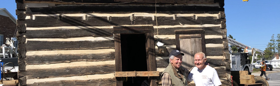 Weaning Cabin Move, Oct. 24, 2019