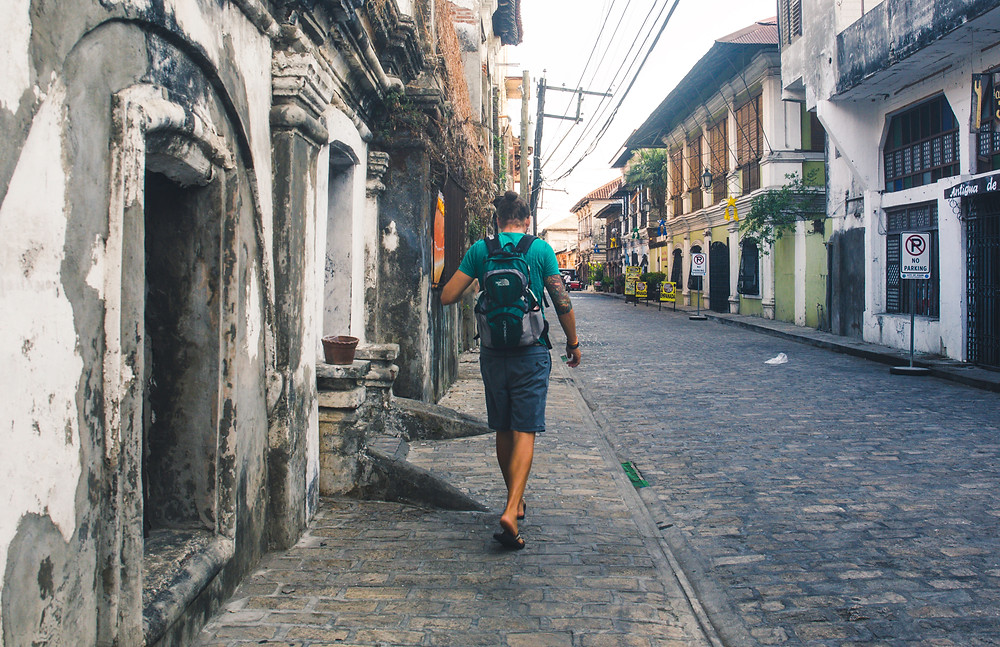 old streets, vigan, unesco