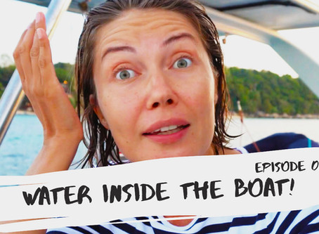 S2:E8 // water inside the boat?!