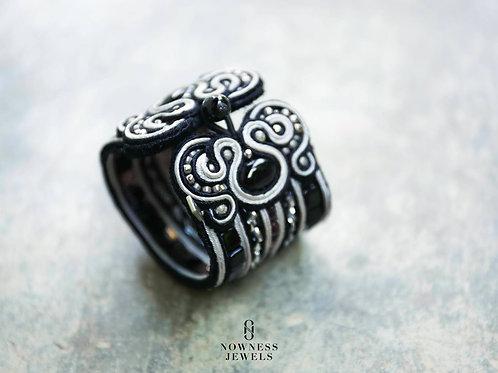 Black&Silver Bold Bracelet