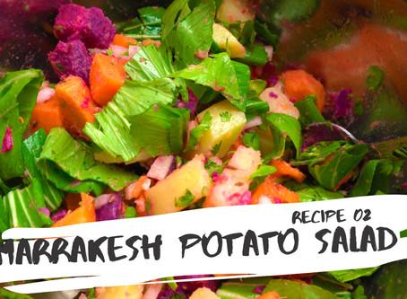 Marrakesh potato salad