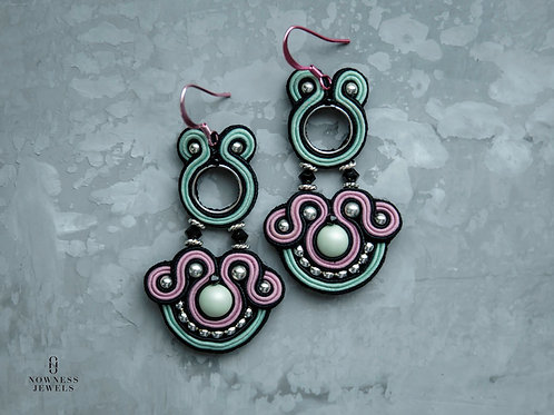 EllePastel Dangle Earrings | Made-to-order