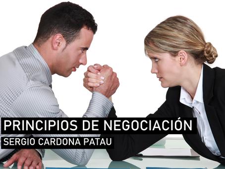 Principios clave de negociación