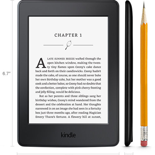 Amazon Kindle Paperwhite with Built-in WiFi 300ppi