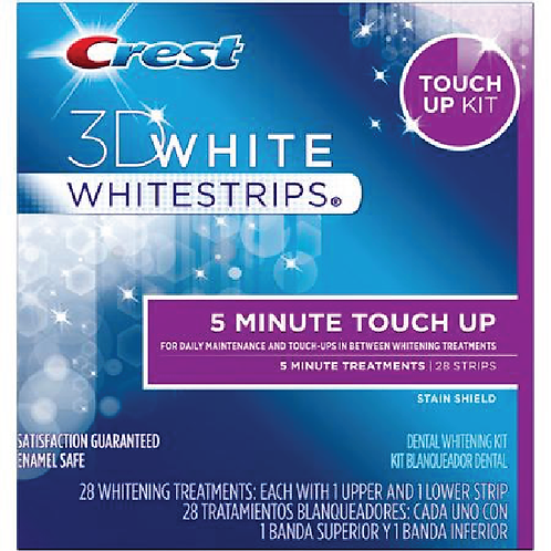 Crest Teeth Whitestrips 5 Minute Touch-Ups 3DWhite