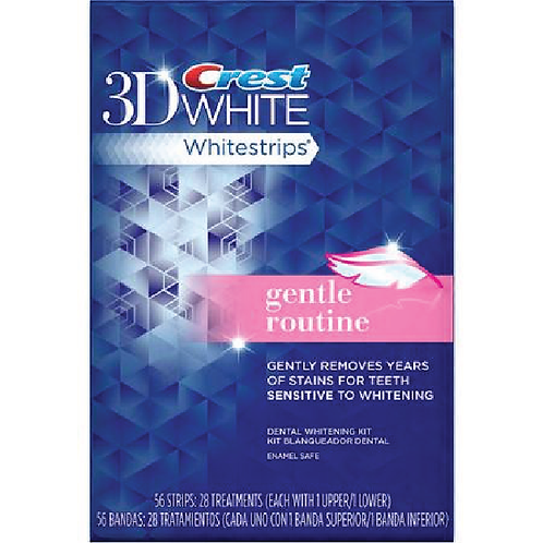 Crest 3D White Whitestrips Gentle Routine 28counts