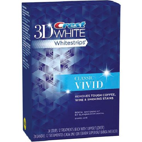 Crest 3D White Classic Vivid Whitestrips 24 strips