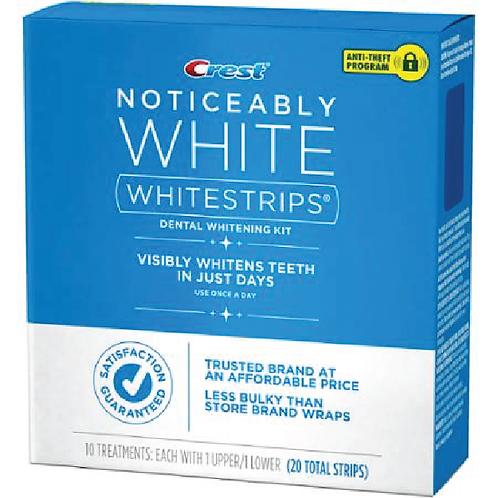 Crest Noticeably White Whitestrips 20 strips