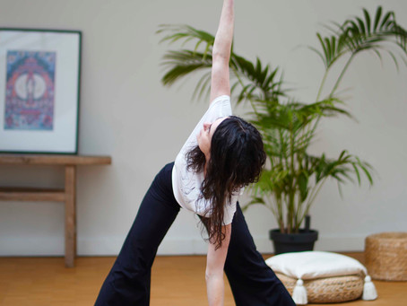 Prenatal yoga & HypnoBirthing - video for home practice