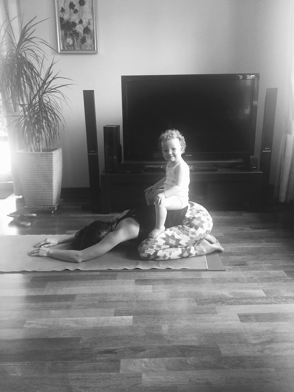 Kasia Pokrop, home practice