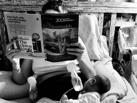 5 Reflections about breastfeeding and early days of motherhood