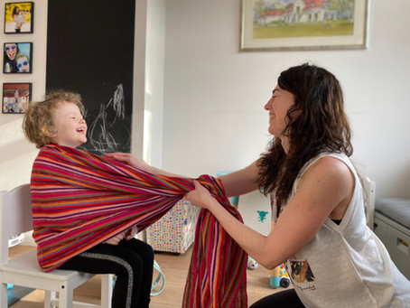 My 5 favorite rebozo practices for pregnancy, labor and after child birth