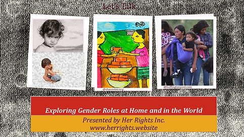 Exploring Gender Roles at Home and in th