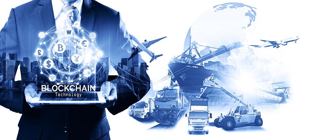 Blockchain integration into the supply chain