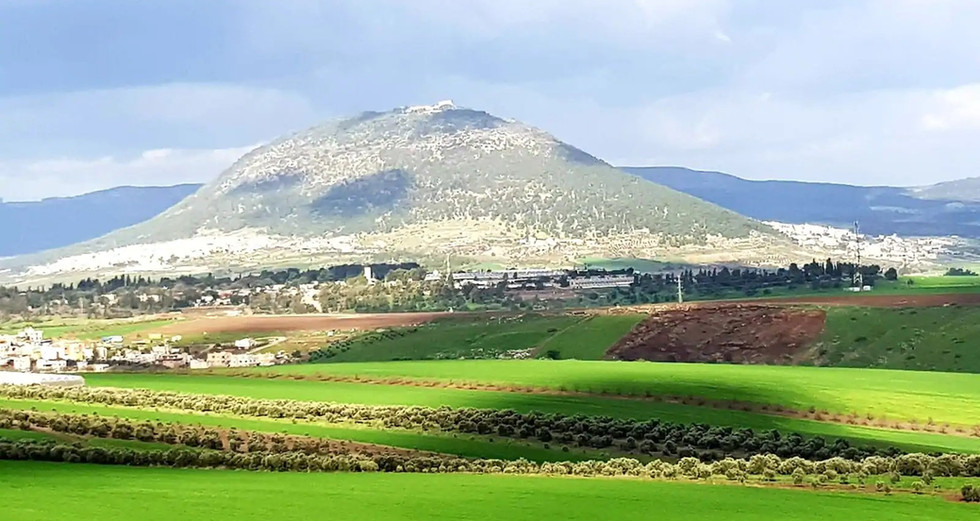 הר תבור,המוקד הנופי של האזור שלנו. Mt.Tabor ,our focal point.