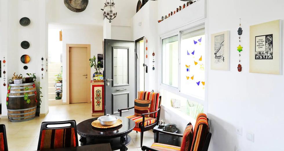 פינת ישיבה בסלון A vintage sitting corner