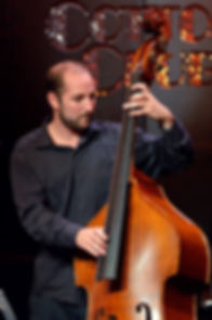 Will Slater playing jazz bass