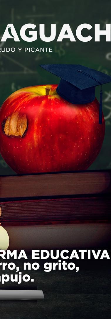 El Aguachile Nº 5 | Reforma Educativa: no corro, no grito, no empujo