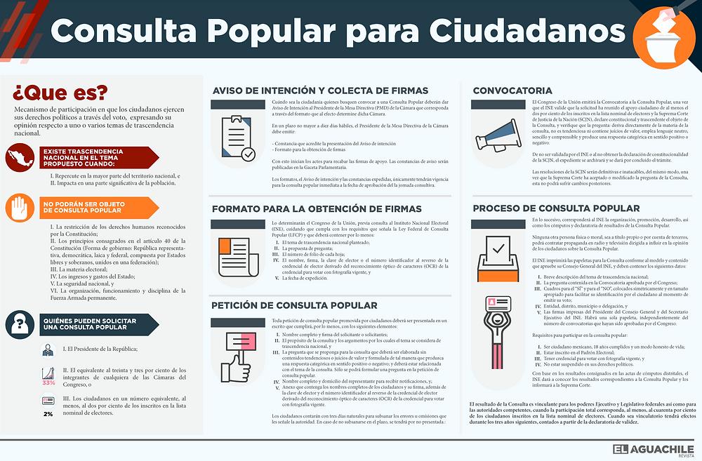 infografia manual de consulta popular para ciudadanos