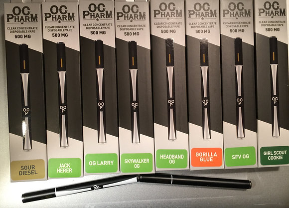 OGP 500mg Disposable Vape