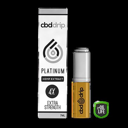 CBD Drip E-Liquid Additive Extract Eco Hemp PLATINUM (4x Extra Strength)