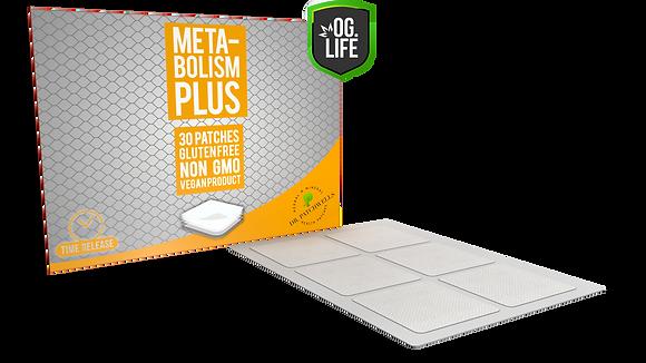 Metabolism Plus - Transdermal Patch (30 Patches)- Transdermal Patch (30 Patches