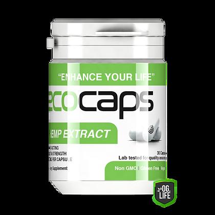 ECO Caps 30 Caps - Hemp Extract 170mg BOTTLE